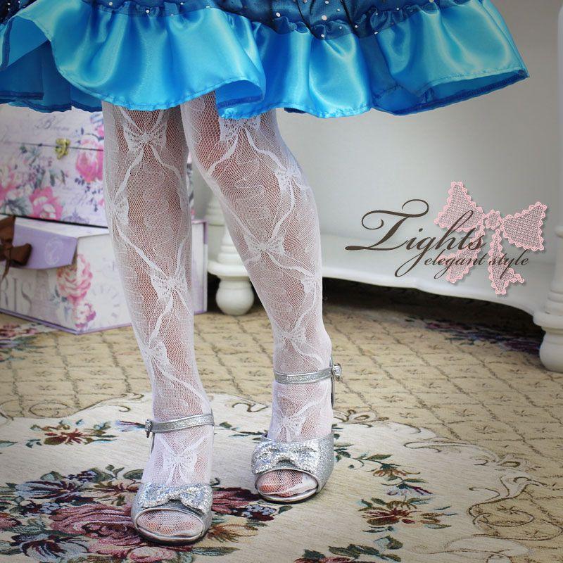 子供ドレスや子供靴に合わせて フォーマルタイツ。子供タイツ