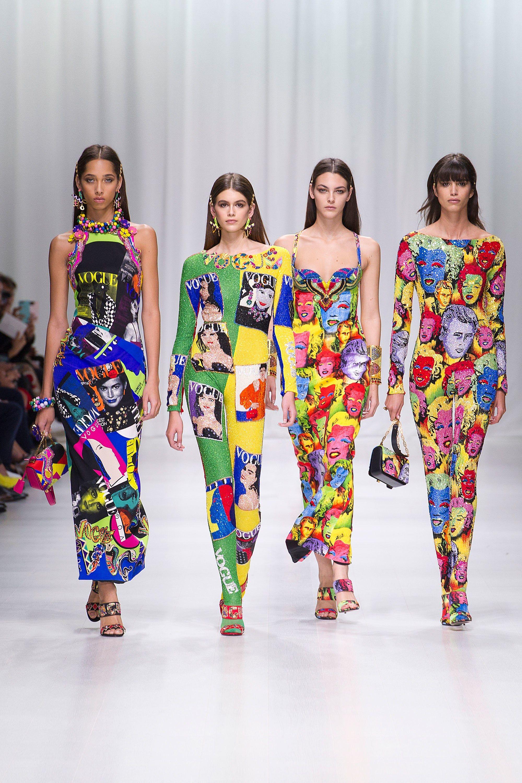 Versace Spring 2018 ReadytoWear Fashion Show Sfilata