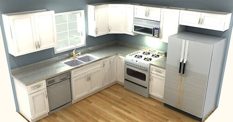 Best Discount Kitchen Cabinets 10X10 For 2000 Kitchen Design 400 x 300