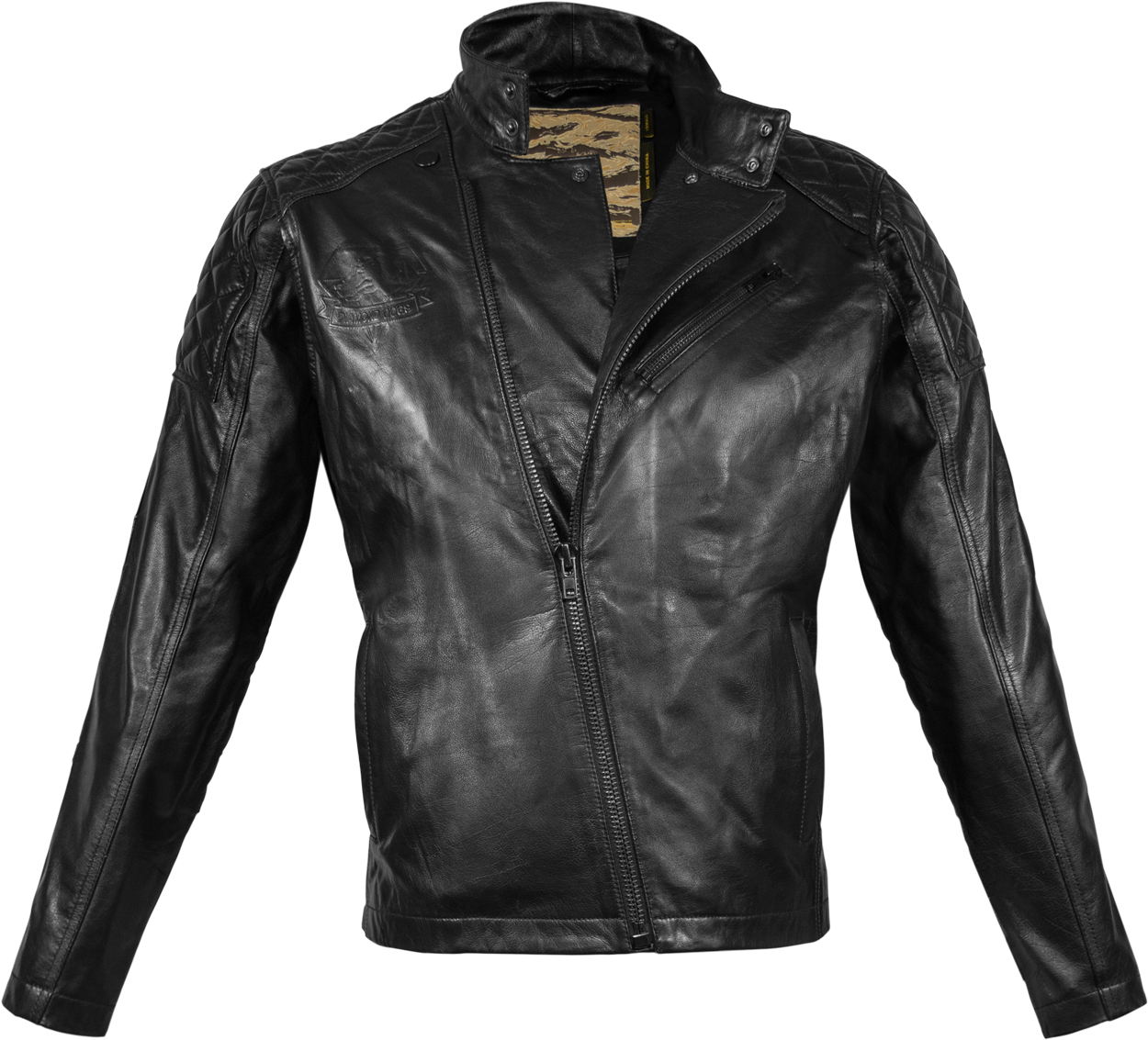 Leather jacket for dogs - Snake Leather By Musterbrand Like A Boss Big Boss