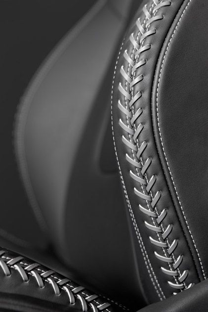 Car Upholstery: Handmade Leather Stitching