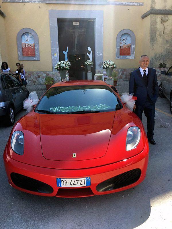 Matrimonio In Ferrari : Matrimonio in ferrari f sposi angelotti pietro e nebbia