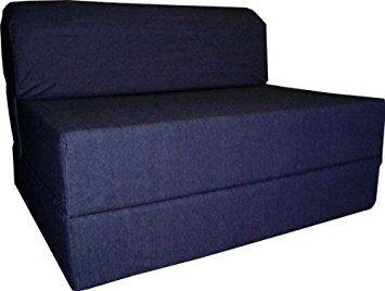 Fabulous Amazon Com Denim Sleeper Chair Folding Foam Bed Sized 6 Pdpeps Interior Chair Design Pdpepsorg