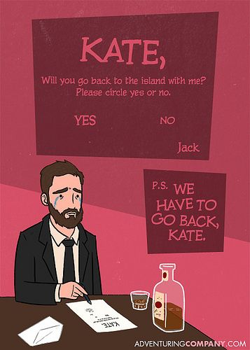 Lost Valentine S Day Cards With Images Lost Tv Show Valentine