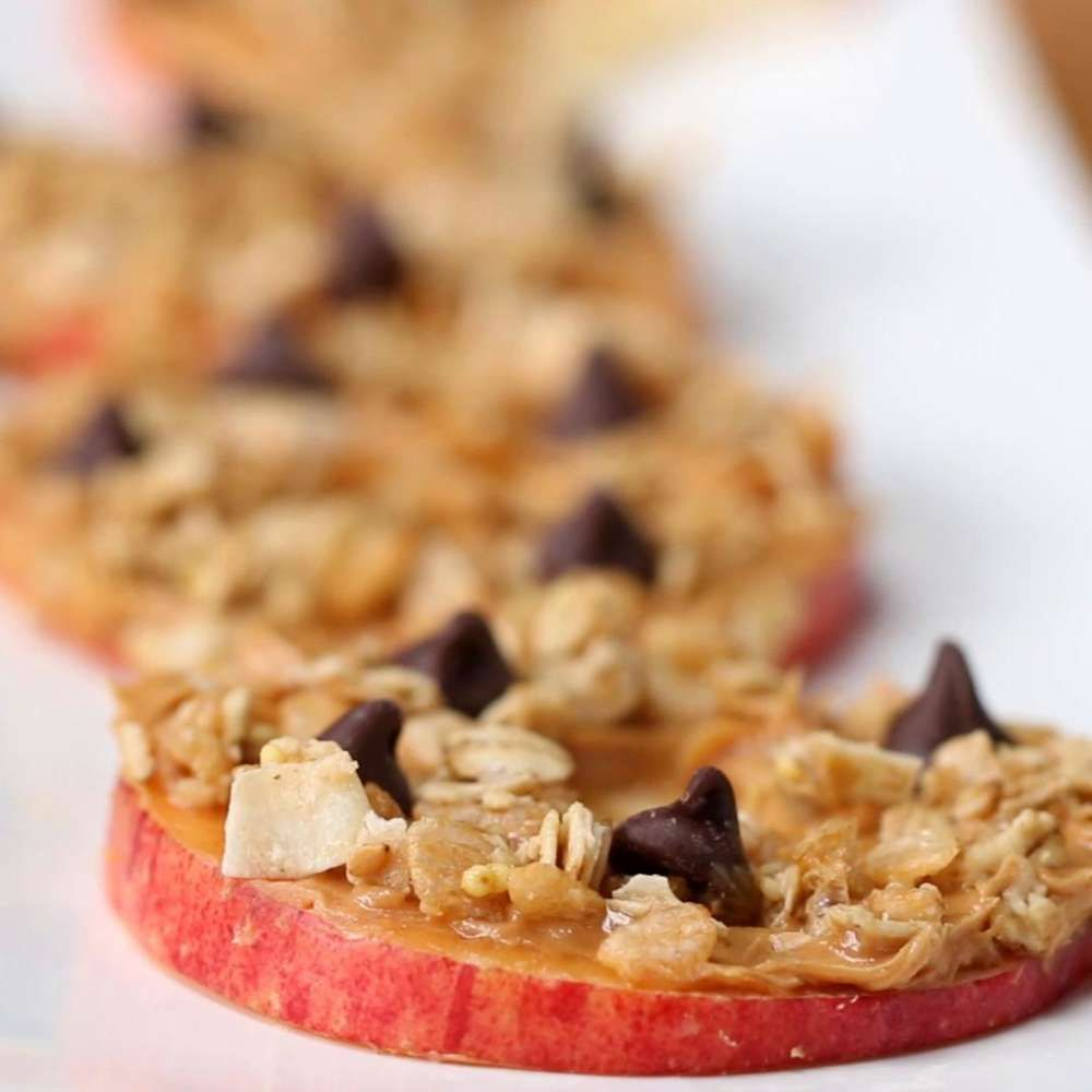 After School Loaded Apple Slices Recipe Healthy