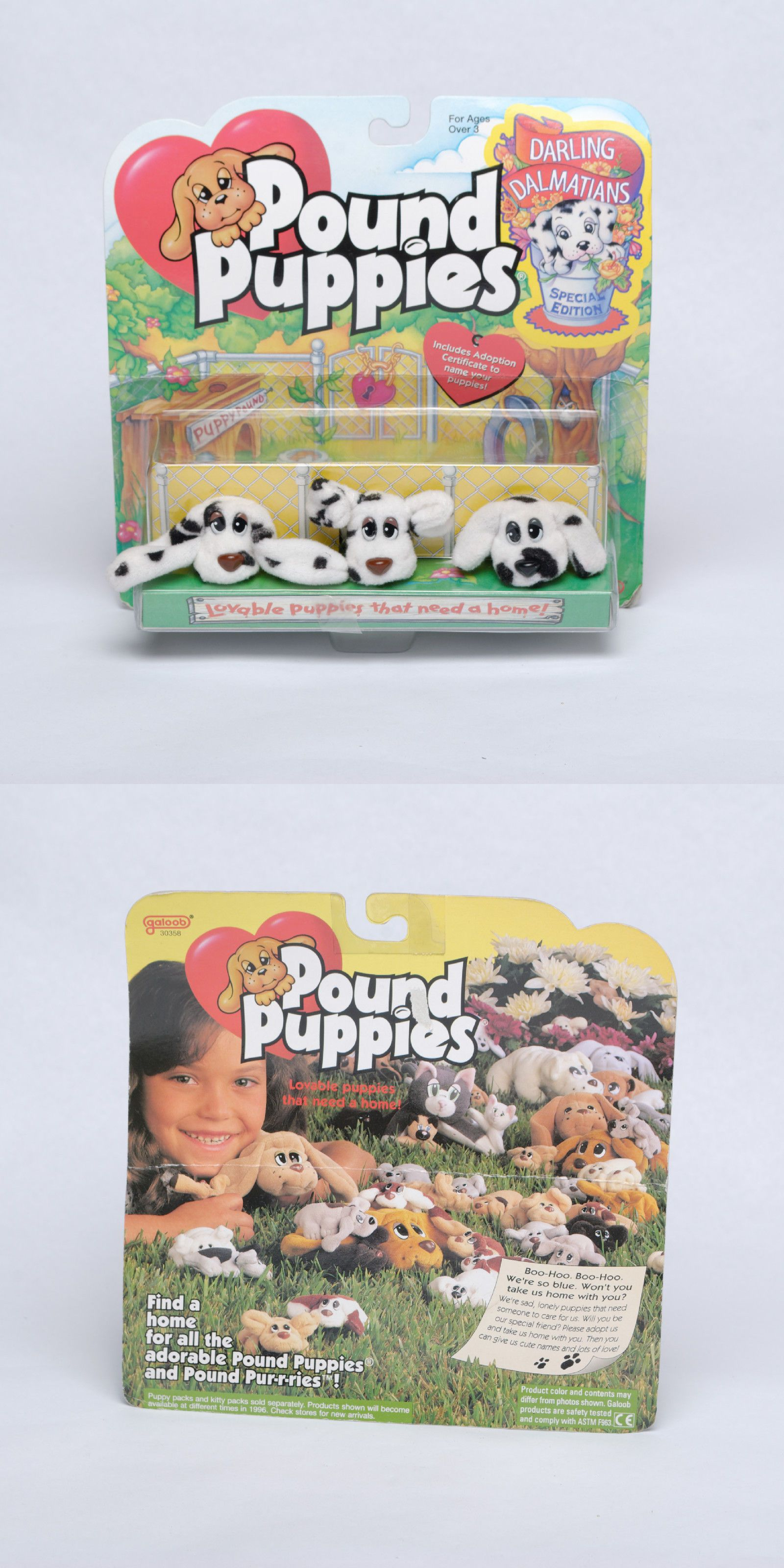 Pound Puppies Pound Puppies Galoob 1995 Special Edition