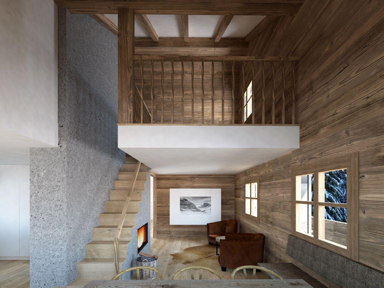 projekt umbau chalet b dele chalet pinterest umbau. Black Bedroom Furniture Sets. Home Design Ideas