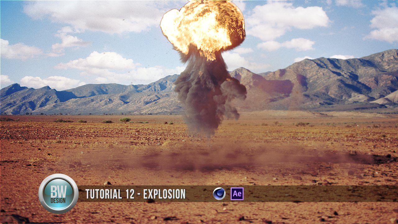 C4D - Explosion