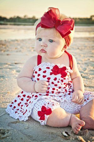 Toddler Kids Baby Girls Valentine/'s Day Print Tops Pants Hair Band Outfit Set A2
