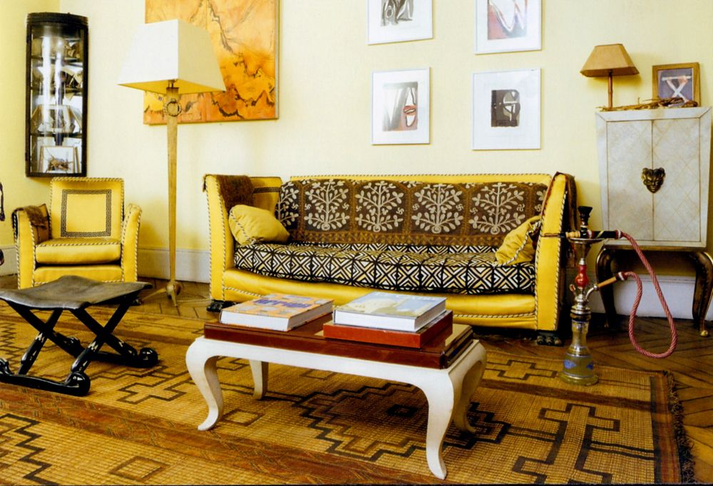 African Inspired Living Room | African living rooms ...