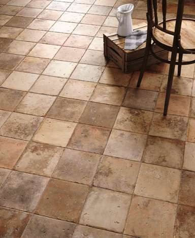Vintage Terracotta Floors Replicated In This Amazing Spanish Floor Tile 68 Possible Variations To Make It Look So Authentic