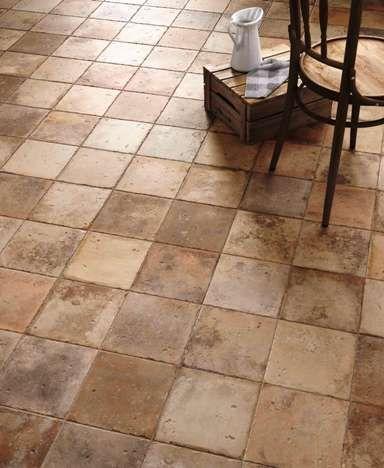 Vintage Terracotta Floors Replicated In This Amazing Spanish Floor
