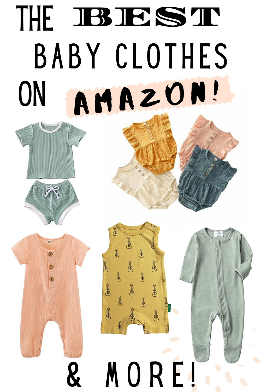 Organic Baby Clothes on Amazon - Cherrington Chatter  Cool baby
