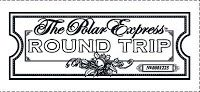 Alfa img - Showing > Polar Express Ticket Coloring Template