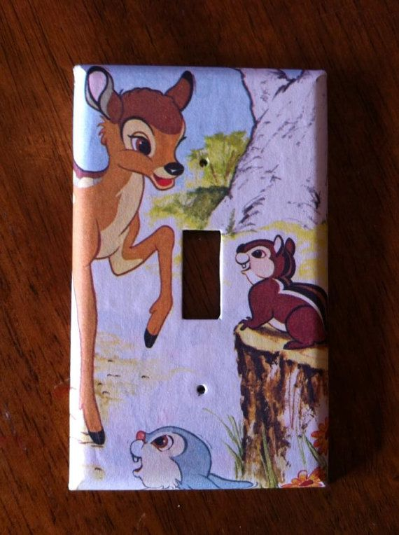 Bambi Light Switch Cover