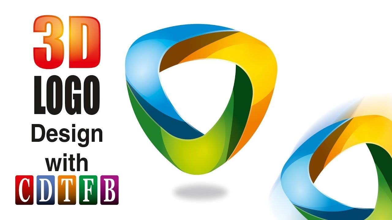 3D Logo Design in corel 20, with CDTFB | corel draw in hindi