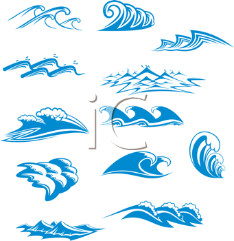 Wave royalty free. Iclipart clipart image of