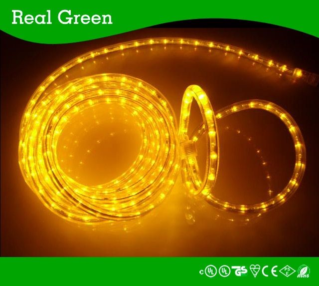 2 Wire Standard Amber Led Rope Light 18ft 120v Amber Led Rope Light 3 8 Inch Smd5050 Led Strip Rope Light 12v Led Rope Lights Outdoor Rope Lights Rope Light