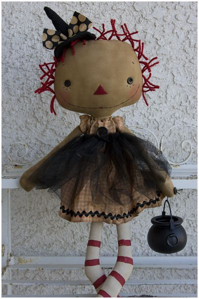 Raggedy Halloween....I love this little Gal!!!