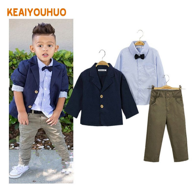 b7d2b7ede9 Children clothing 2017 New fashion gentlemen kids casual boys ...
