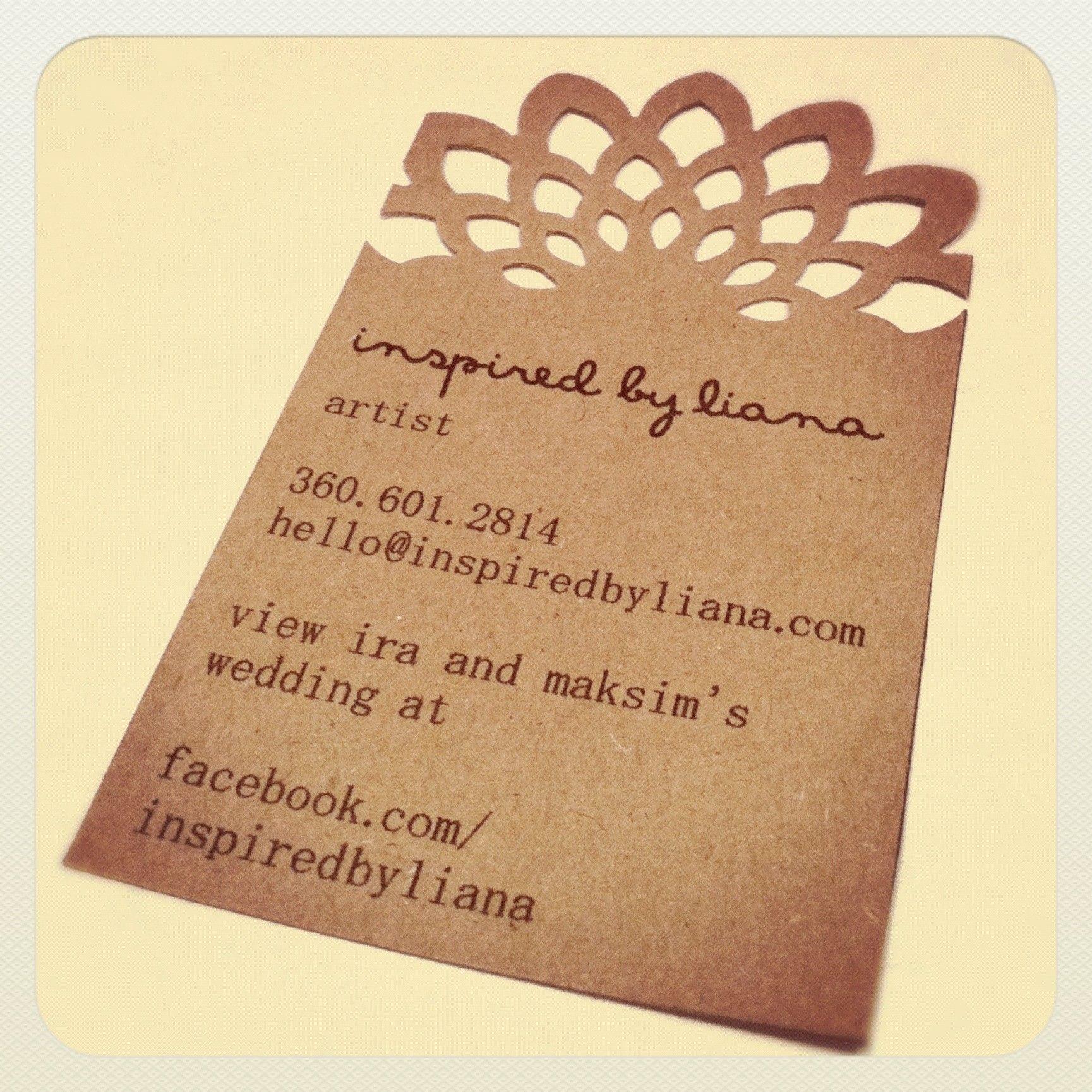 homemade business cards!   Business Cards   Pinterest   Business ...