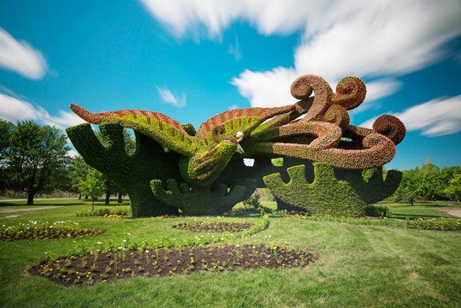 nachhaltige garten kunst skulpturen pflanzen, landschaftsbau » nachhaltige garten kunst: faszinierende, Design ideen
