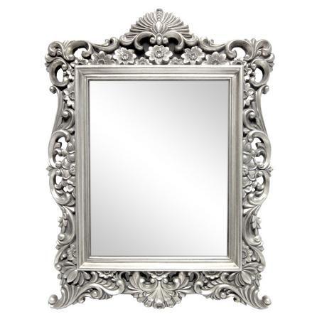 Silver Ornate Framed Mirror Dunelm Framed Mirror Wall Ornate Mirror Mirror Wall
