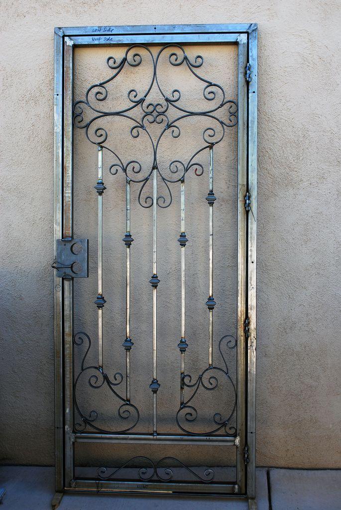 Double Security Door By C Marquez Front Doors Doors Security