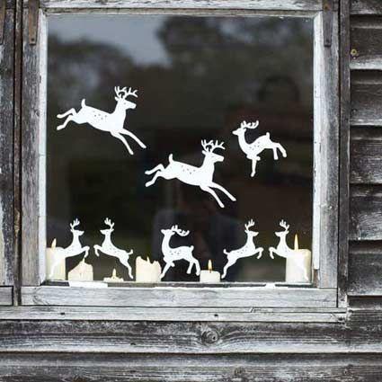 Decori finestre natalizie cerca con google christmas - Decori natalizi per finestre ...