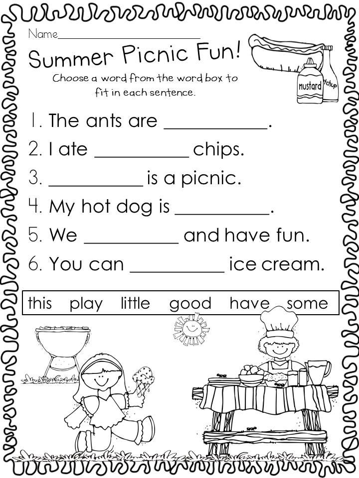 Kindergarten End Of Year Review Activities Review Activities, School  Worksheets, Kindergarten Reading Activities
