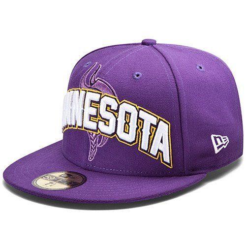 390507659265f NFL Minnesota Vikings Draft 5950 Cap Child New Era.  15.99