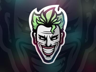 Joker Logo Illustration Mascot Joker Logo Logo Illustration Logo Design Art