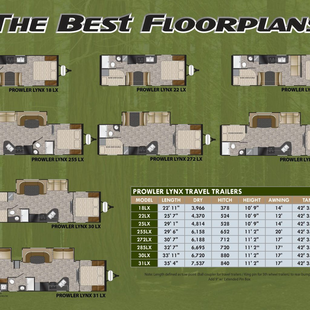 fleetwood prowler rv floor plans