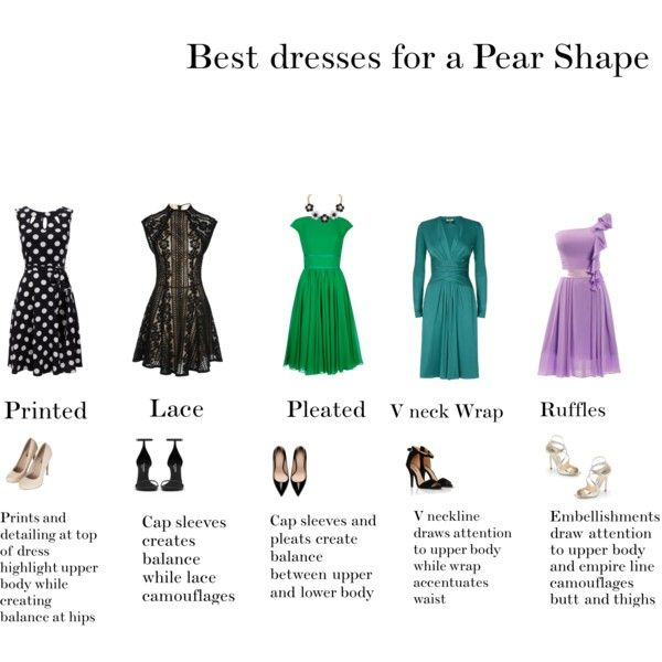 Best Dresses For Pear Shapes By Go 2 On Polyvore Featuring Lover
