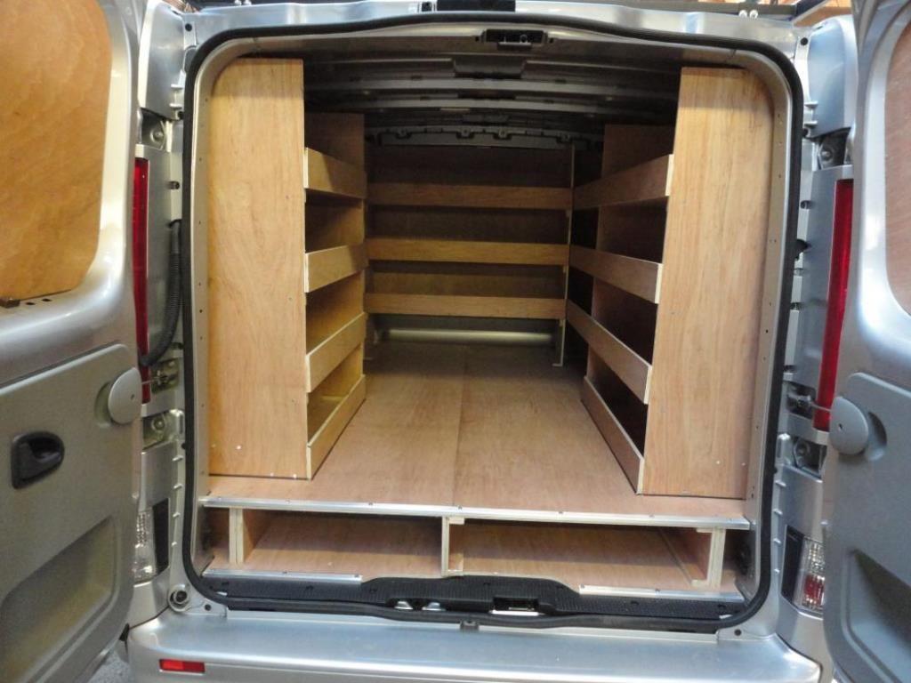 Dsc00526 Jpg 1024 768 Van Shelving Van Storage Van Organization