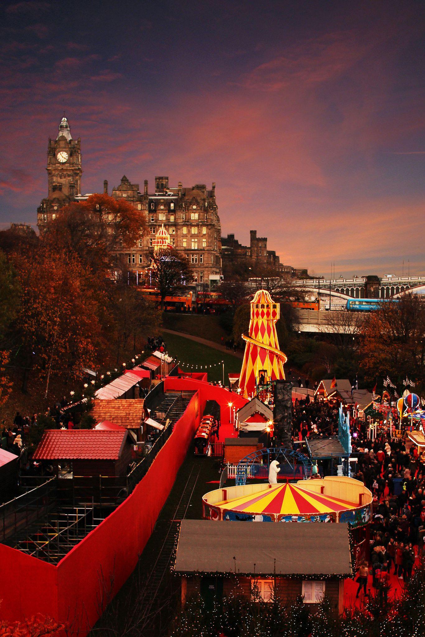edinburgh christmas markets 2016 lifestyle blogger uk scotland