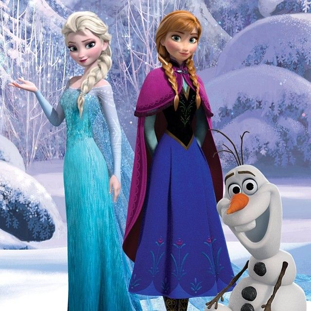 Frozen Disneyfrozen Frozen Anna Elsa Olaf Verjaardag