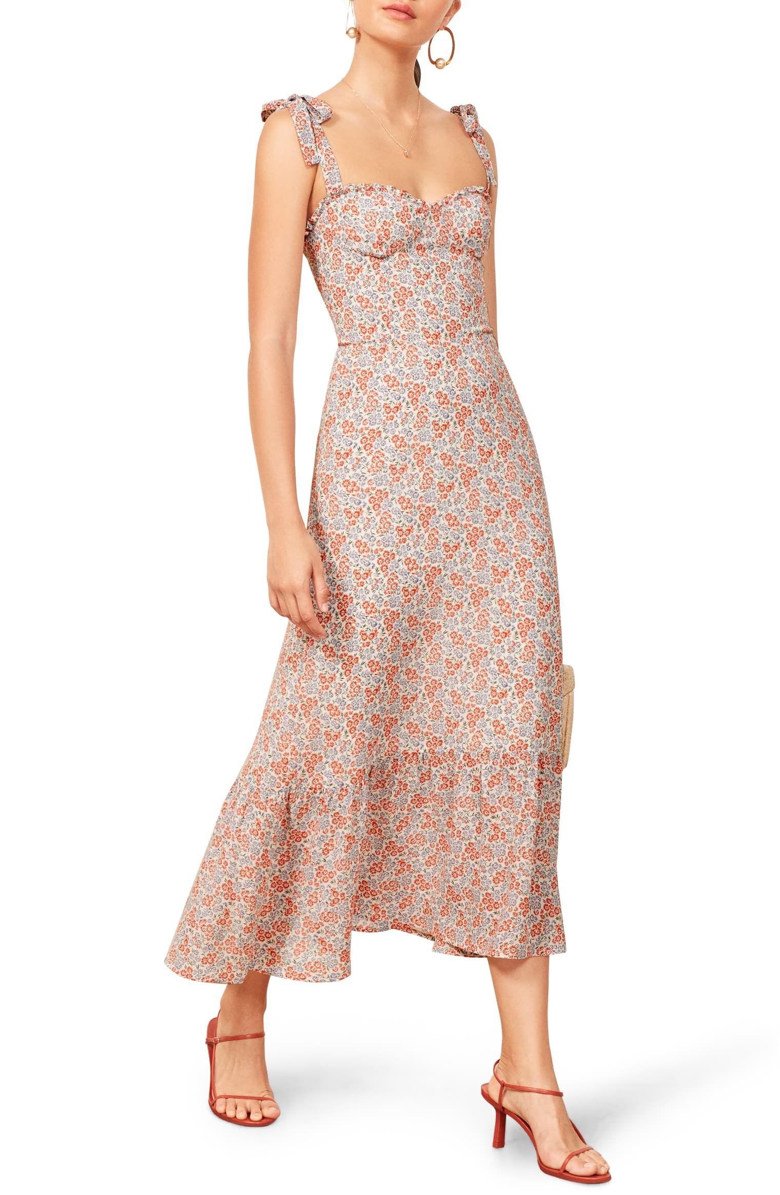 Product image 17 in 2020 dainty dress floral midi dress