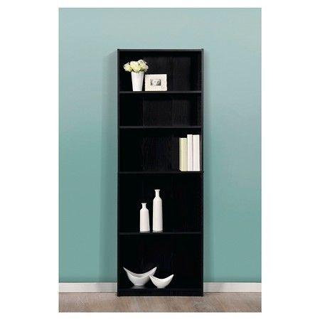 Target Book Shelves 5 shelf bookcase - sauder® : target | realistic apartment