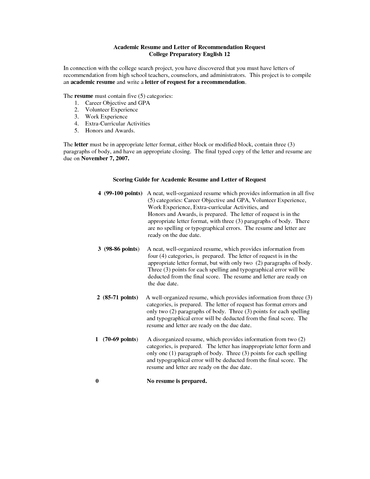 Resume Format Recommendations Resume Format Resume Template Examples Medical Resume Resume Examples