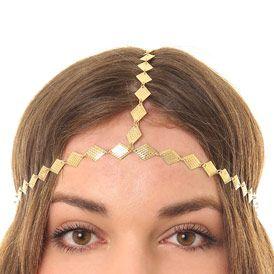 sélectionner pour dernier nouvelle arrivée conception adroite Bijou de tête doré à strass chez claire's | Accessoires des ...