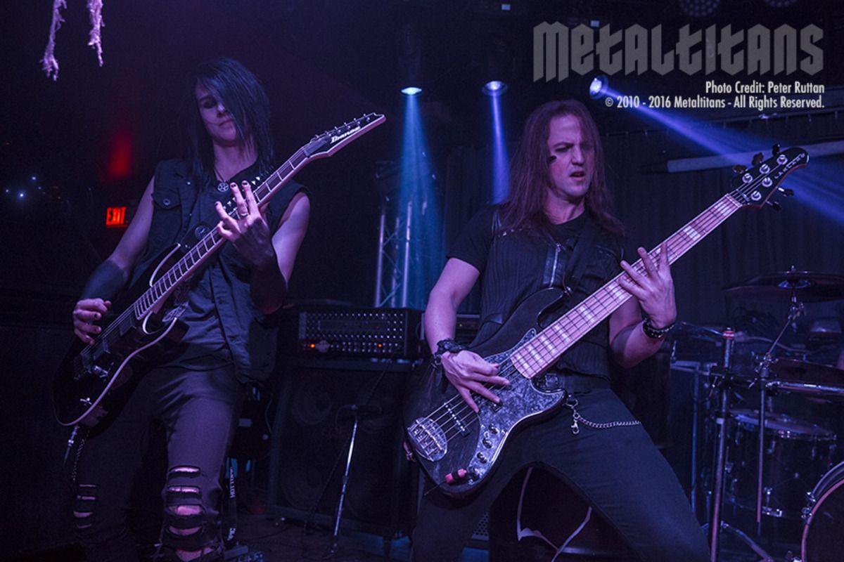 MetalTitans.com - CONCERT PHOTOS - 2 Shadows - Broden Eagle and Jono Olson