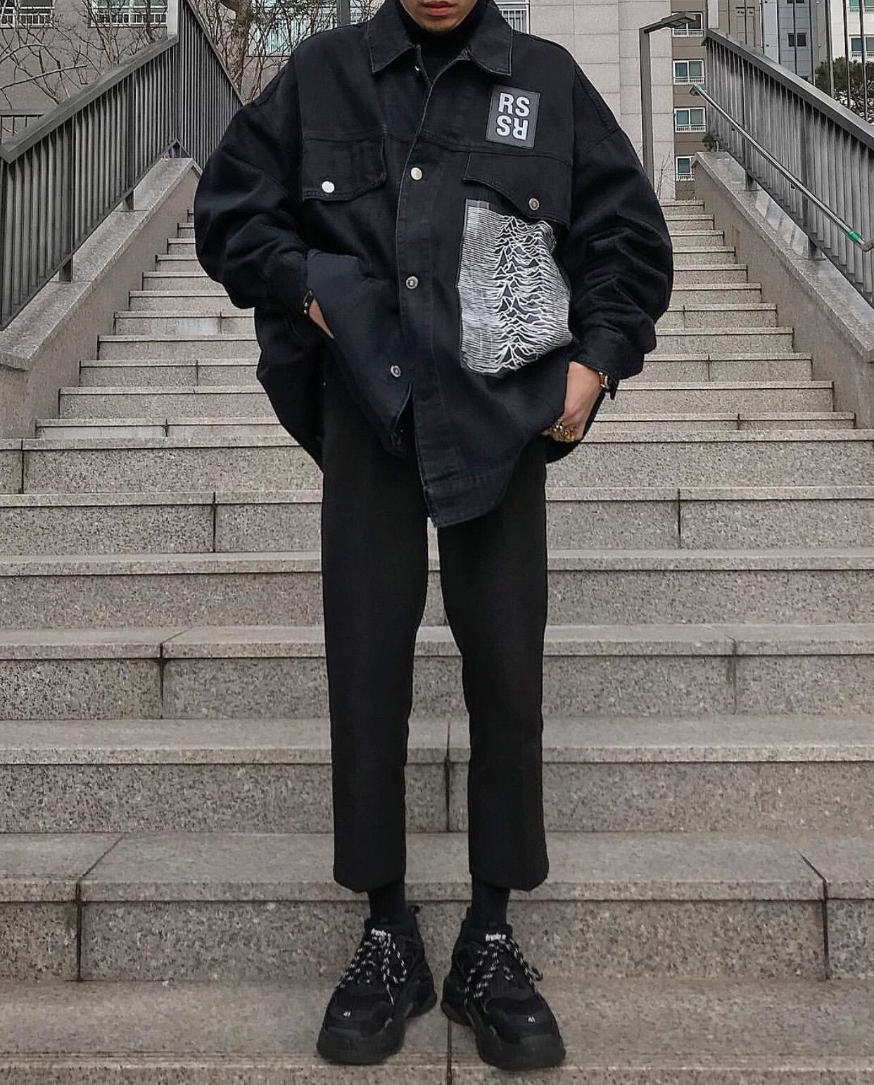 Streetwear outfit, Mens casual outfits