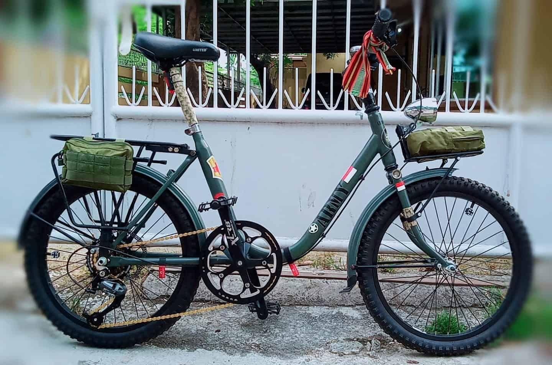 Sepeda Minion Ala Army Barang Minion Sepeda Sepeda Bmx