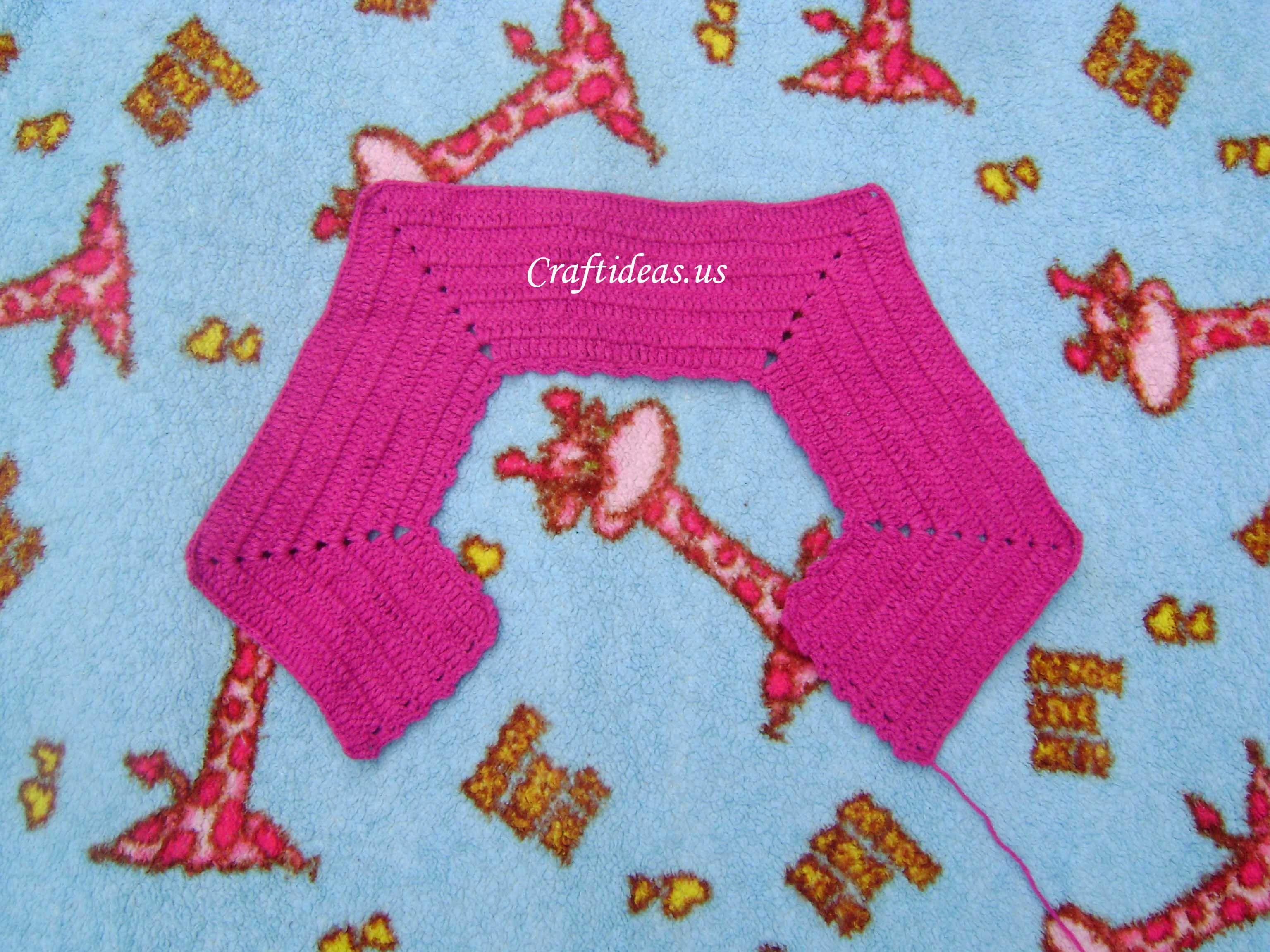 Hobby Craft Ideas Kids Part - 28: Crochet Cute Dress For Little Girls - Craft Ideas - Crafts For Kids -  HobbyCraft  