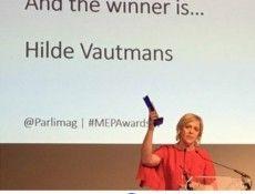 Open Vld - Hilde Vautmans verkozen tot beste Europees parlementslid in Buitenlands Beleid