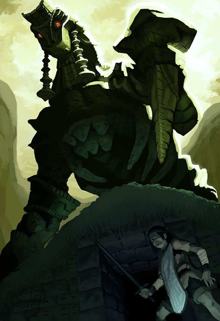 Grave Watcher By Immp Shadow Of The Colossus Colossus Colossus Game