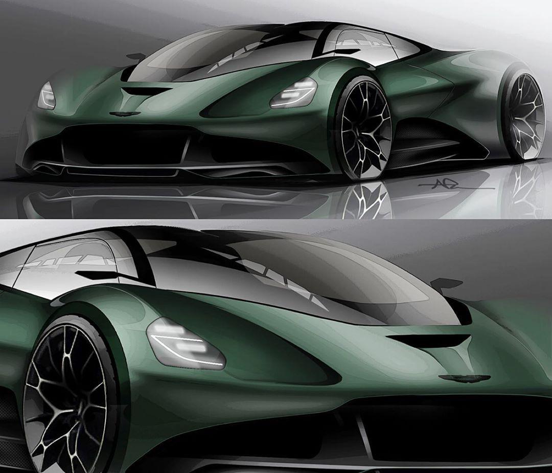 """Aston Martin Sketch: NIKO PESA On Instagram: """"Final Sketches"""
