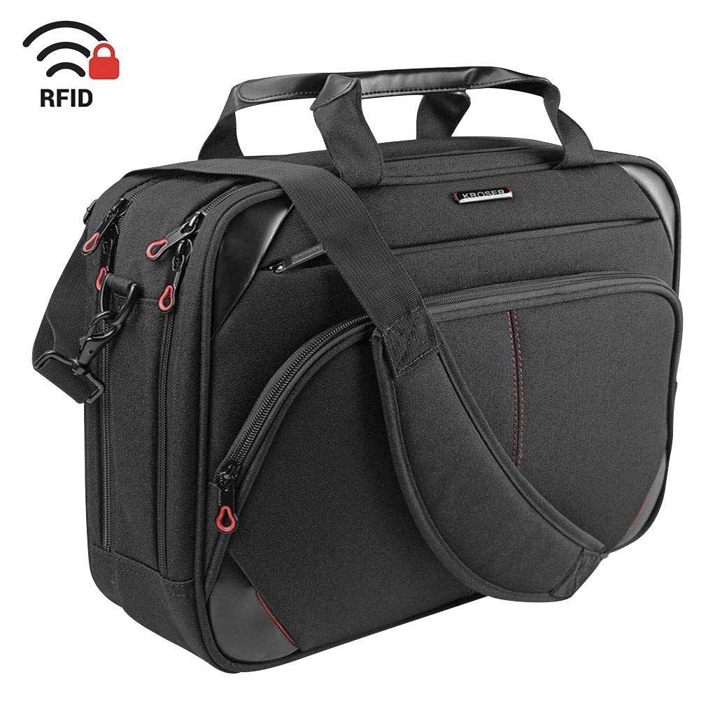 a325926c2487 Amazon.com: KROSER Laptop Bag 15.6 Inch Laptop Briefcase Laptop ...