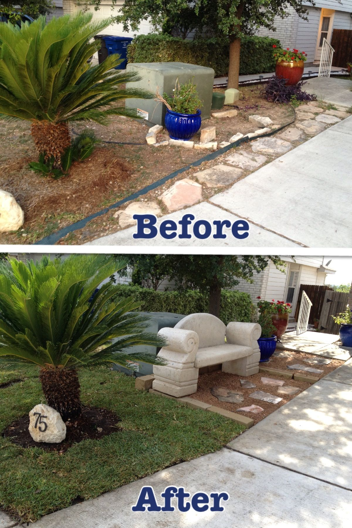 Curbside Appeal We Have Such A Small Yard And It Wasn T